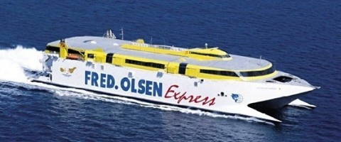 Fred Olsen multiplicará las frecuencias entre los puertos de las Palmas y Tenerife