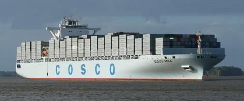 Cosco tiene la segunda mayor flota del mundo.