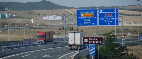 Transporte por carretera en el Pais Vasco