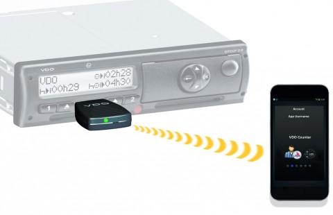 VDO tacografo DTCo SmartLink smartphone