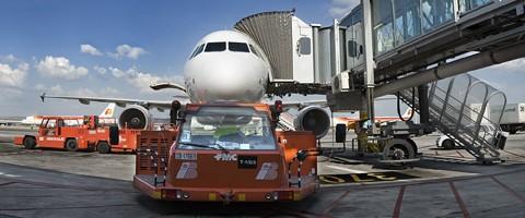Iberia Airport Services division de handling
