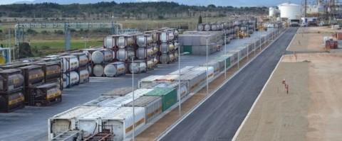 Bayer inaugura su terminal ferroviaria de Tarragona adaptada al ancho europeo