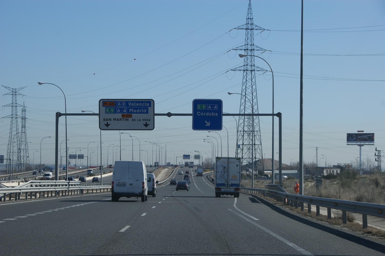 Las carreteras de Madrid cerradas fin de semana del 3 de Septiembre