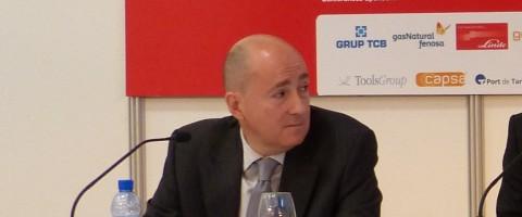 Ignacio Arrondo durante su participacion en el SIL2013