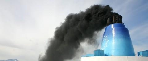 Contaminacion de los buques por emisiones a la atmosfera