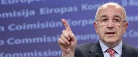 Joaquin Almunia comisario europeo de la Competencia