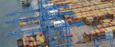 Terminal de Opcsa en el Puerto de La Luz