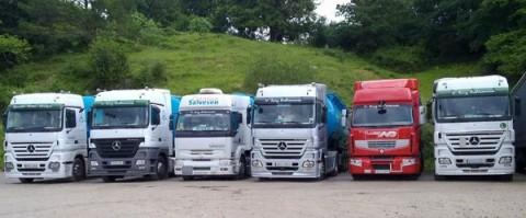 flotas de transporte por carretera