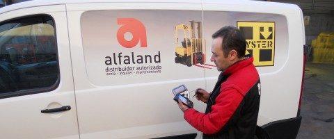 Alfaland desarrolla un servicio tecnico online