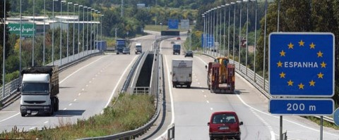 Frontera entre Portugal y España