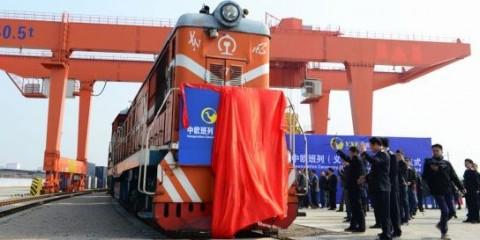 El tren chino de mercancias llega a Madrid