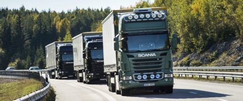 Ya son 100.000 los camiones conectados de Scania