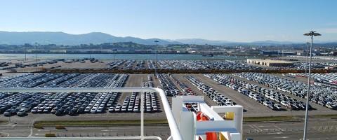 Espigón de Raos en el puerto de Santander