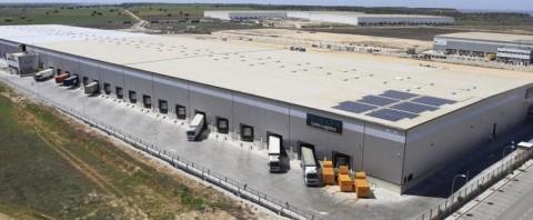 Parque logístico de Gran Europa en Torija adquirido por Blackstone con la intermediación de CBRE