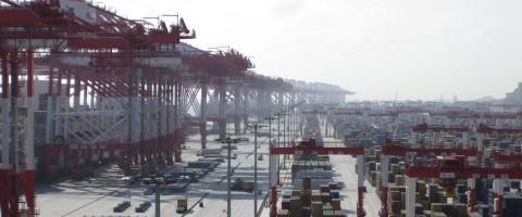 Terminal de contenedores de Yangshan, puerto de Shanghai