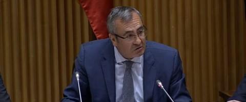 Jose Llorca ha presentado en el Congreso de los Diputados el primer informe anual de los Servicios Portuarios