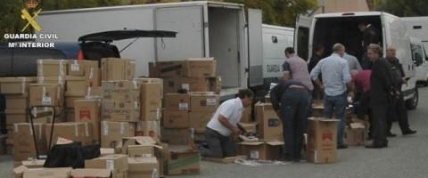 La Guardia Civil ha desarticulado una banda especializada en el robo de camiones