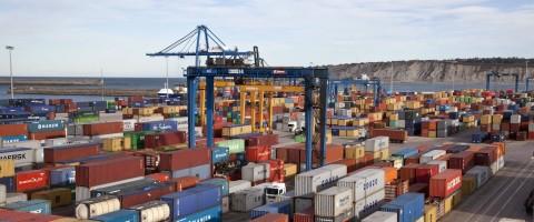 terminal contenedores puerto de Bilbao