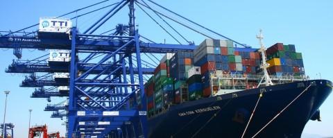 El Kerguelen de CMA CGM escala en el puerto de Algeciras