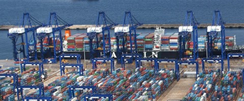 La Terminal TTIA de Hanjin Shipping de Algeciras representa la mayor inversión coreana en España.