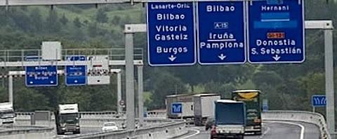 Transporte por carretera en Guipúzcoa