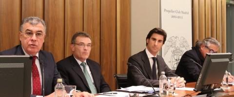 Mesa redonda en el X aniversario del Propeller Club Madrid