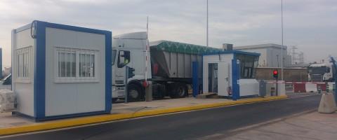 Nuevo acceso viario a la darsena sur del puerto de Castellón.
