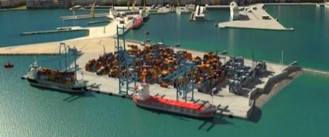 'Muelle de La Galeona' es como se llamara el muelle de la nueva terminal de contenedores del puerto de Cádiz.
