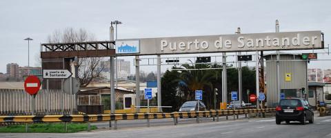 Acceso viario al puerto de Santander