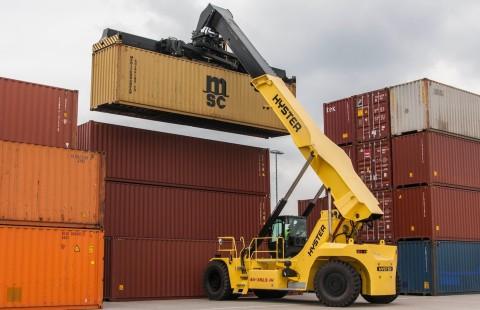 Hyster ya dispone de soluciones para el pesaje de los contenedores