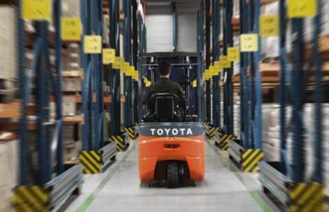 Carretilla eléctrica Toyota