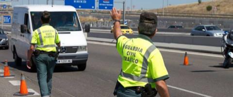 control de la DGT a furgonetas
