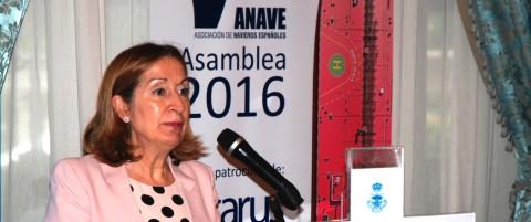 Ana Pastor en la asamblea genral de Anave
