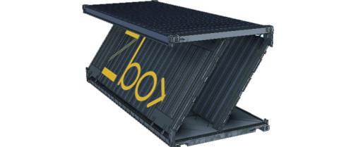 Navlandis presenta su nuevo contenedor marítimo plegable
