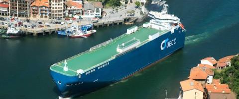 Noatum se asocia con UECC en el puerto de Pasajes