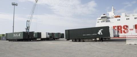 Nuevo récord de la naviera FRS en la línea de Motril con Tanger-Med