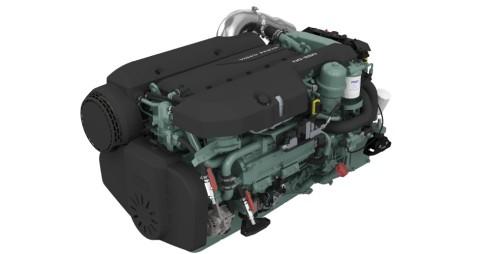 Nuevo motor diesel Volvo Penta de ocho litros para embarcaciones profesionales