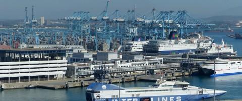 Instalaciones del puerto de Algeciras