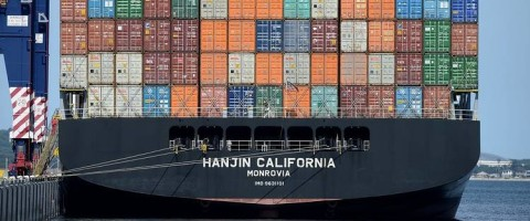 el buque Hanjin California