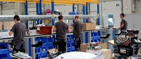 Trabajadores logistica lidl alcala