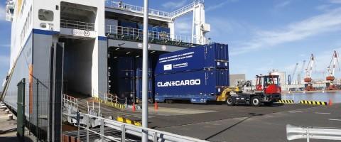 cldn pone en marcha su nueva linea en el puerto de santander