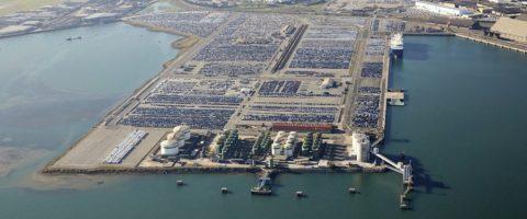 aerea del puerto de Santander