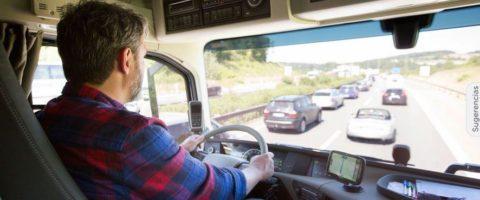 conductor de camion camionero transportista