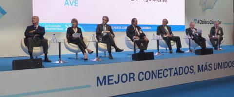Encuentro de los empresarios valencianos en Madrid para demandar el corredor mediterraneo