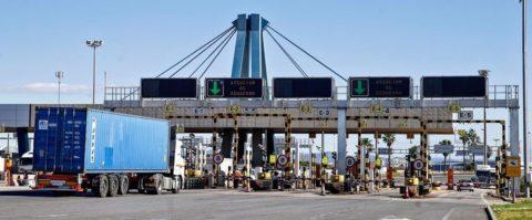 camiones puerto valencia acceso viario