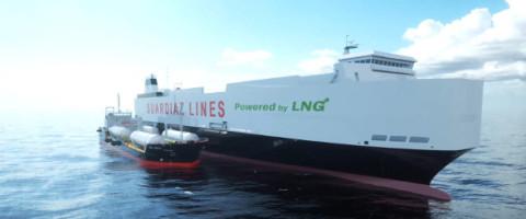 suardíaz cepsa puerto Barcelona GNL gas natural