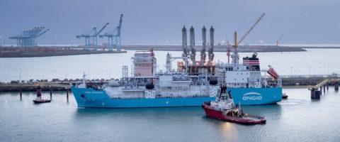 el Core LNGas hive, que promueve una cadena logística integrada, segura y eficiente para el suministro de Gas Natural Licuado como combustible en el sector del transporte, especialmente en el ámbito marítimo.
