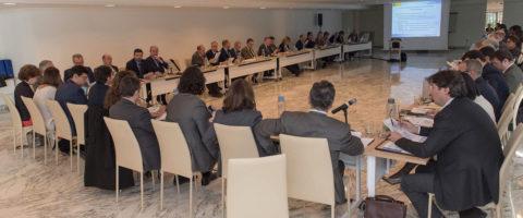 28 Autoridades Portuarias se han reunido con la presidenta de Puertos del Estado, Ornella Chacón, para analizar los resultados de los cuestionarios sobre el nuevo Marco Estratégico del sistema portuario español.