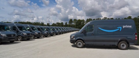 Mercedes suministrará un total de 20.000 nuevas Sprinter a las pequeñas y medianas empresas que forman parte de la red Amazon Logistics en Estados Unidos.