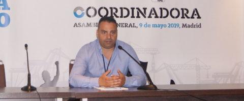 Antolin Goya, Coordinadora, en la 42 Asamblea General